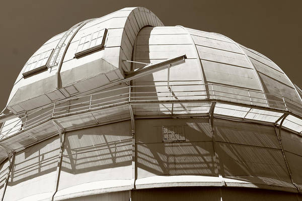 Observatory Art Print featuring the photograph Mount Wilson Observatory by Lorraine Devon Wilke