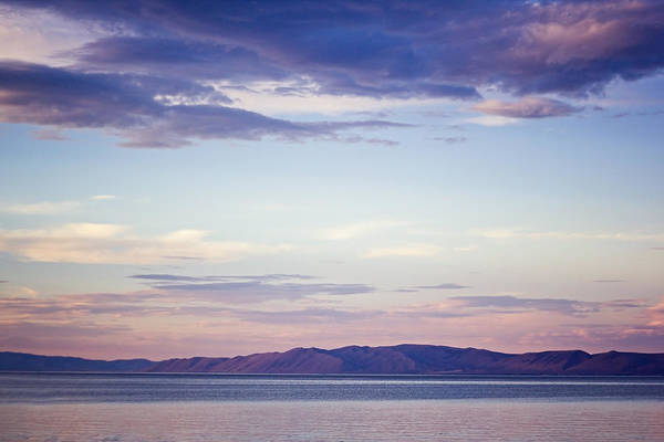 Horizontal Art Print featuring the photograph Mountain Sunset by Tanya Little