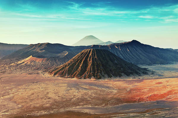 Horizontal Art Print featuring the photograph Mt. Bromo, Indonesien Close-up by Daniel Osterkamp