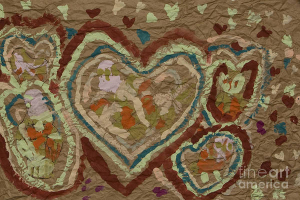Art Print featuring the painting Multitude Of Love by Stephanie Ward