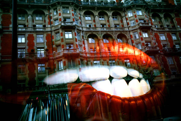Jezcself Art Print featuring the photograph munching on Knightsbridge by Jez C Self