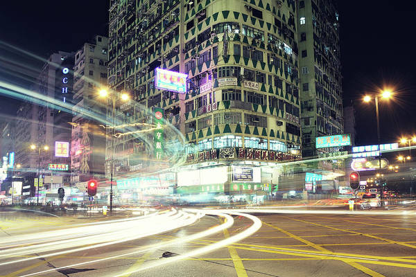 Horizontal Art Print featuring the photograph Nathan Road by Thank you for choosing my work.
