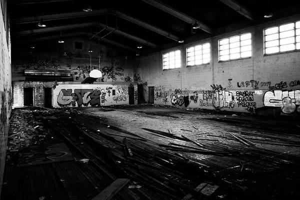 Nike Art Print featuring the photograph Nike Base Gym by Dom Manfredo