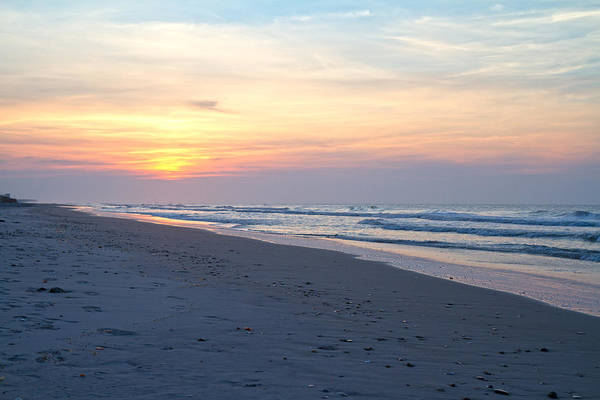Topsail Art Print featuring the photograph North Topsail Beach Serenity by Betsy Knapp
