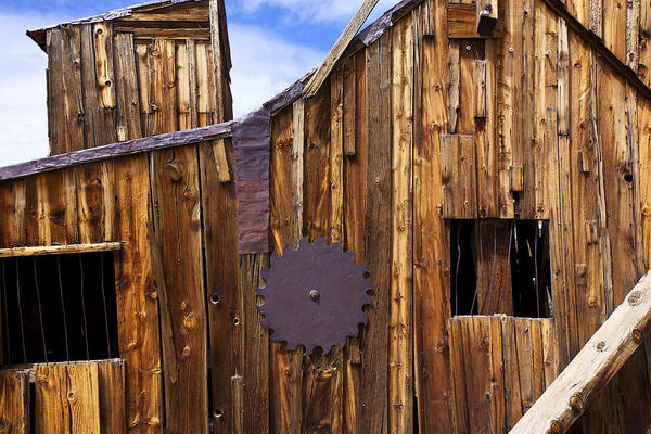 Wooden Art Print featuring the photograph Old Building Bodie Ghost Town by Garry Gay