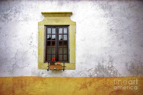 Address Art Print featuring the photograph Old Window by Carlos Caetano