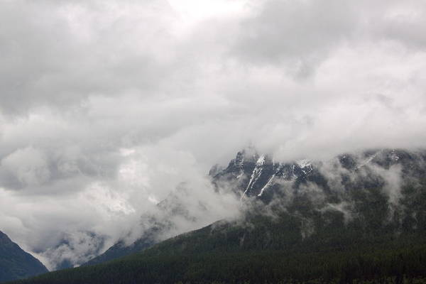 Landscape Art Print featuring the photograph Ominous Clouds by Amanda Kiplinger