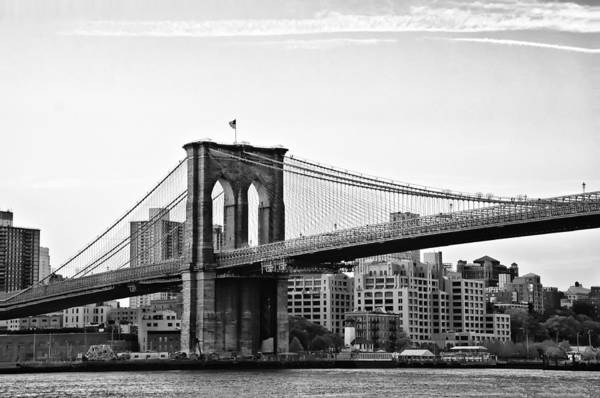 On The Brooklyn Side Print featuring the photograph On The Brooklyn Side by Bill Cannon