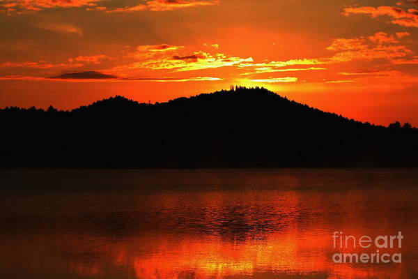Sunrise Art Print featuring the photograph Onaping Canada Sunrise by Marjorie Imbeau