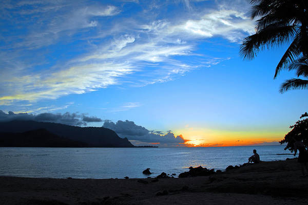 Sunsets Art Print featuring the photograph Peaceful Solitude by Lynn Bauer