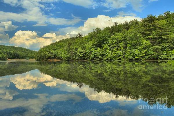 Long Branch Lake Art Print featuring the photograph Perfect Reflections by Adam Jewell