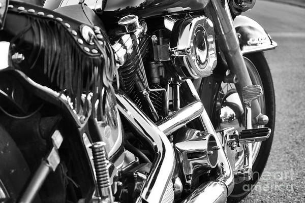 Motorcycle Art Print featuring the photograph Purr Baby Purr by Traci Cottingham