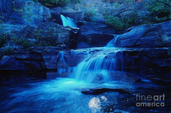 Water Art Print featuring the photograph Quaint Falls by Jeff Swan