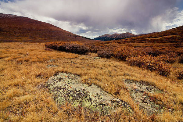Horizontal Print featuring the photograph Quanella Pass by Dragonfly 7