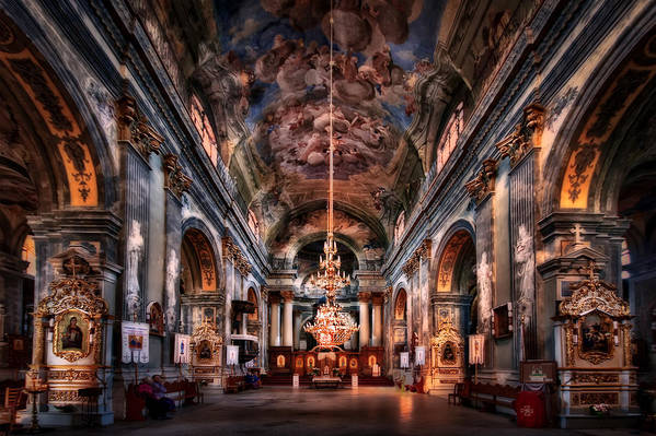 Church Art Print featuring the photograph Reason To Believe by Evelina Kremsdorf