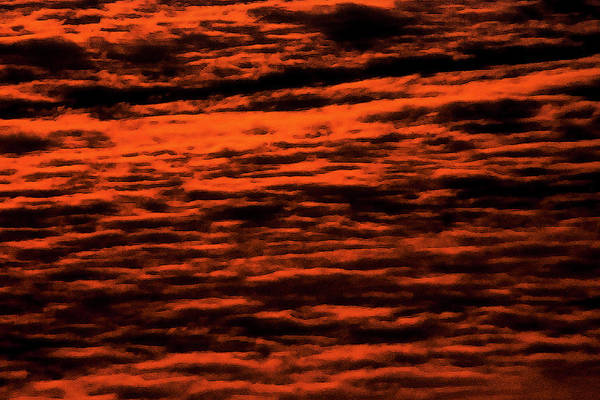 Sunrise Art Print featuring the photograph Red Clouds by Patrick M Lynch