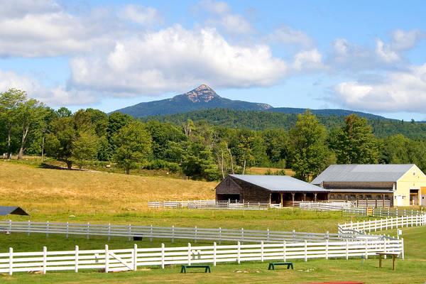 Mt. Chocorua Art Print featuring the photograph Remick Farm Summer by Larry Landolfi