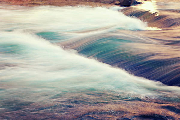 Horizontal Print featuring the photograph River Rapids by Isabelle Lafrance Photography