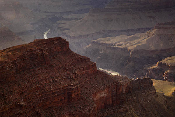 National Park Art Print featuring the photograph River Through The Canyon by Andrew Soundarajan
