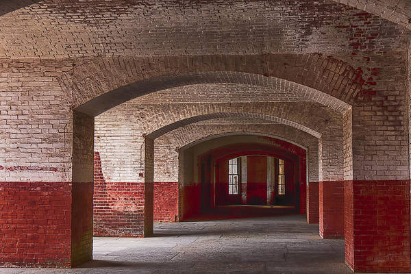 Arch Art Print featuring the photograph Row Of Arches by Garry Gay