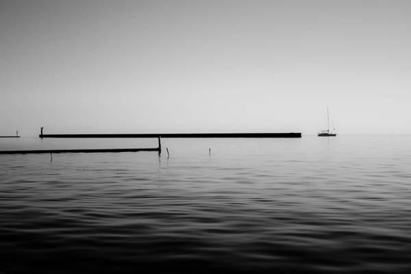 Lake Pontchartrain Art Print featuring the photograph Sail by Allison Badely