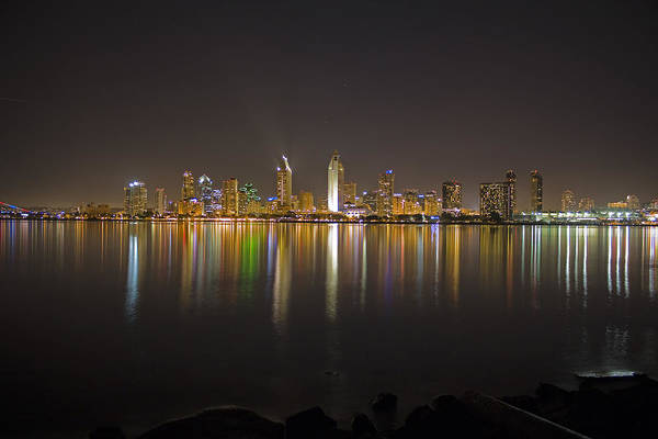 City Art Print featuring the photograph San Diego by Benjamin Street