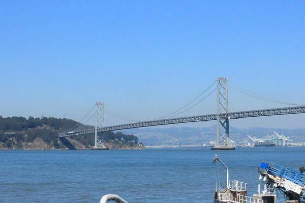 San Francisco Bay Bridge Art Print featuring the photograph San Francisco Collection # 29 by Raquel Amaral
