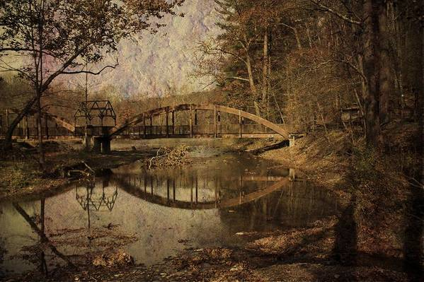 Bridge Art Print featuring the photograph Schnecksville by Trish Tritz