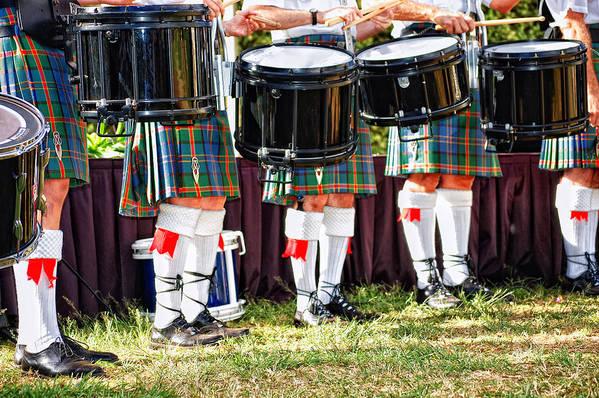 Scottish Art Print featuring the photograph Scottish Festival 3 by Dawn Eshelman