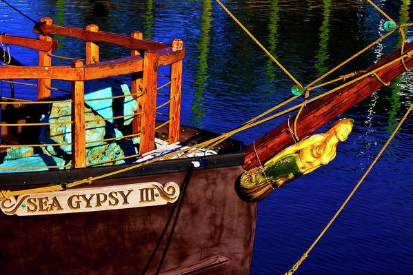 Sea Art Print featuring the photograph Sea Gypsy IIi by Bill Barber