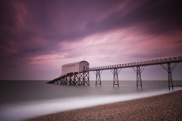 England Art Print featuring the photograph Selsey Lifeboat Station by Nina Papiorek