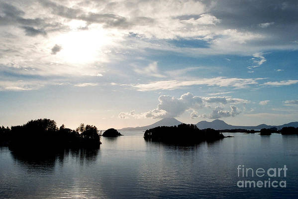 Seascape Art Print featuring the photograph Serene Waters by Frank Townsley
