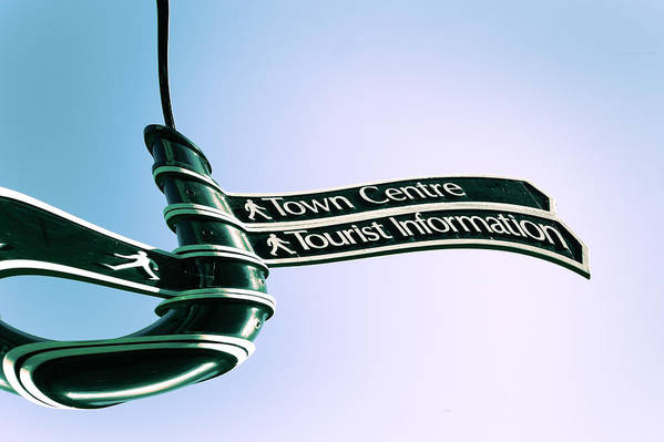 Attraction Art Print featuring the photograph Sign Post by Tom Gowanlock