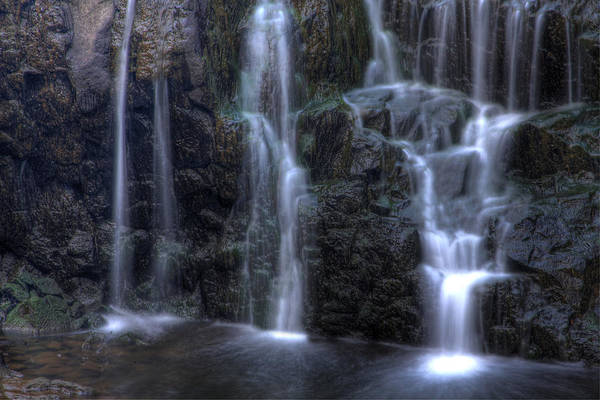 Buttermilk Falls Art Print featuring the photograph Silk by Jeff Bord