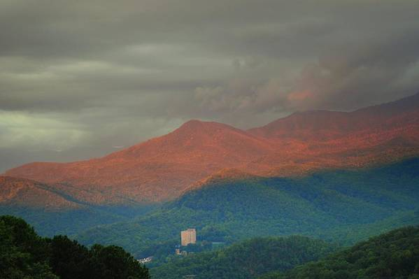 Smoky Mountains Art Print featuring the photograph Smoky Mountain Way by Frozen in Time Fine Art Photography