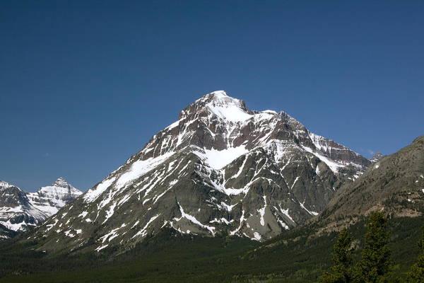 Montana Art Print featuring the photograph Snow Covered Mountain by Amanda Kiplinger