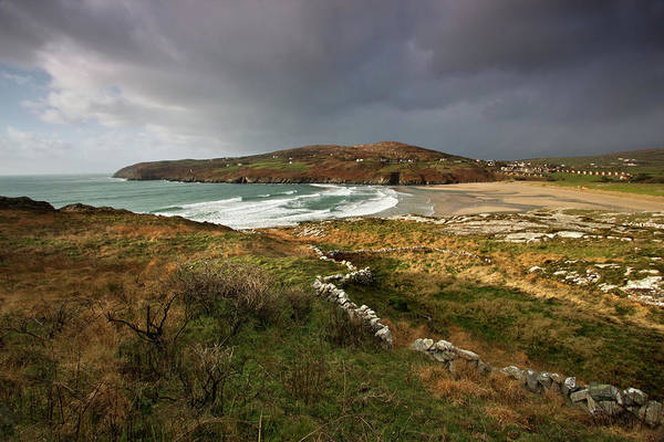 Storm Clouds Art Print featuring the photograph Storm Clouds Over Crookhaven by Celine Pollard