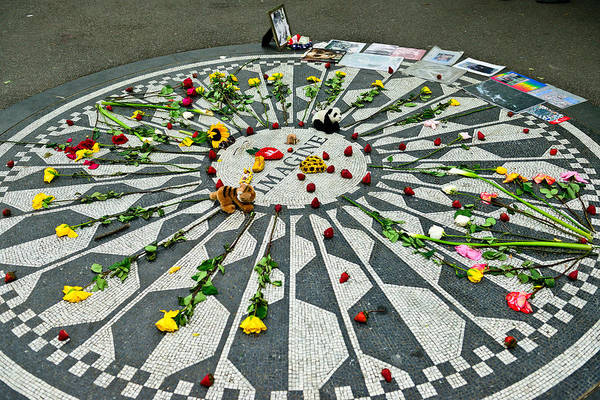 New York Art Print featuring the photograph Strawberry Fields by Greg Norrell