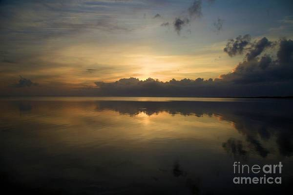 North Carolina Outer Banks Art Print featuring the photograph Sun On The Horizon by Adam Jewell