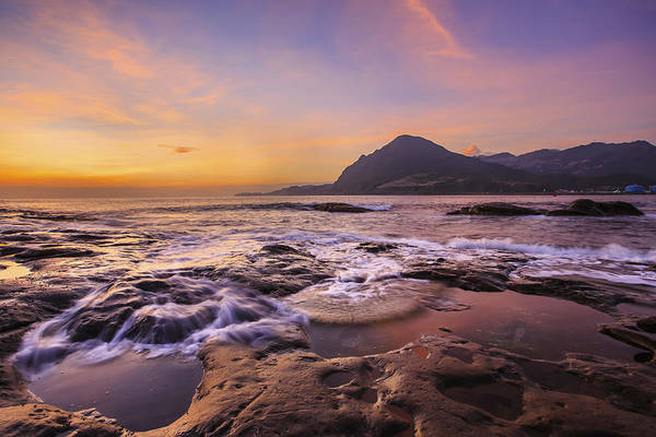 Horizontal Art Print featuring the photograph Sunrise by 712