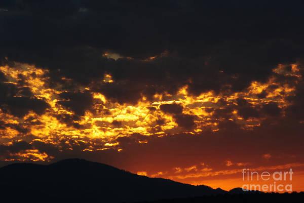 Sunrise Art Print featuring the photograph Sunrise Burning by Jon Rossiter
