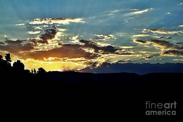 Sedona Art Print featuring the photograph Sunrise Over Sedona Az by Scott Allison