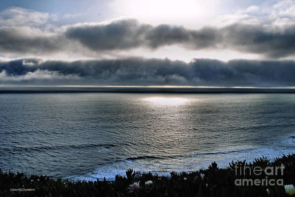 Carmel Art Print featuring the photograph Sunset In Carmel by Nancy Chambers