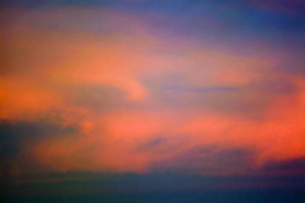 Clouds Art Print featuring the photograph Sunset Sky by Patrick M Lynch