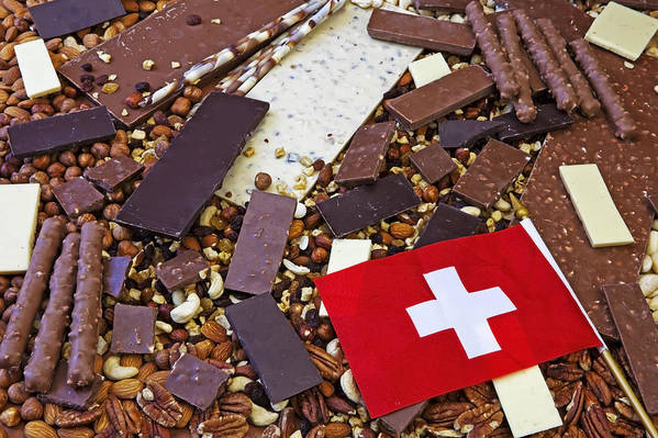 Chocolate Art Print featuring the photograph Swiss Chocolate by Joana Kruse