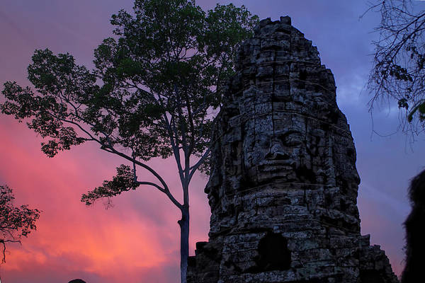 Cambodia Art Print featuring the photograph Ta Phrom by Dominic Guiver