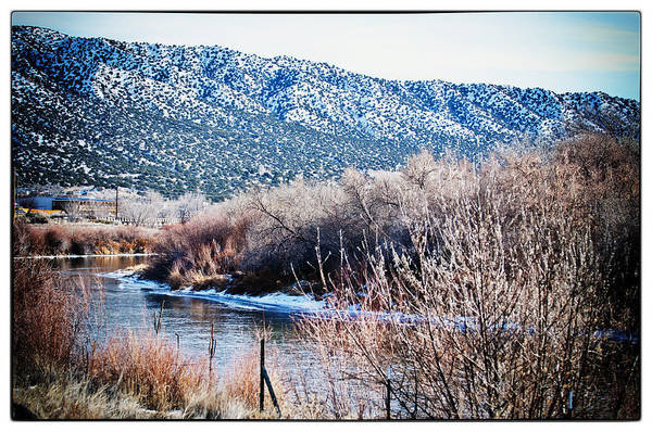 Landscape Art Print featuring the photograph Taos Creek by Lisa Spencer