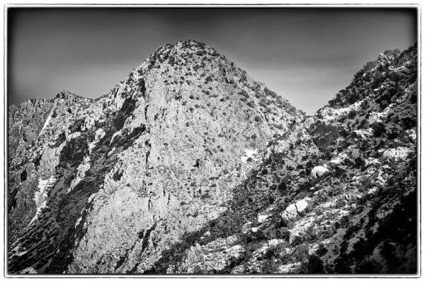 Nature Art Print featuring the photograph Taos Mountain 3 by Lisa Spencer