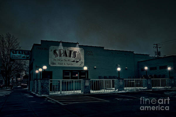 Spats Art Print featuring the photograph Tav On The Ave by Joel Witmeyer