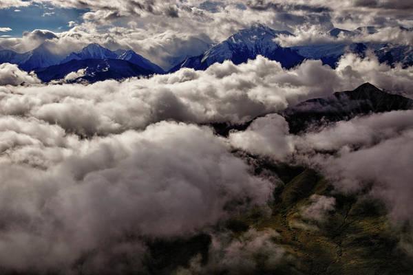 Denali National Park Art Print featuring the photograph Ten Thousand Feet Over Denali by Rick Berk